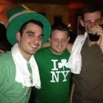 St. Paddy's - The boys getting their green on!!!
